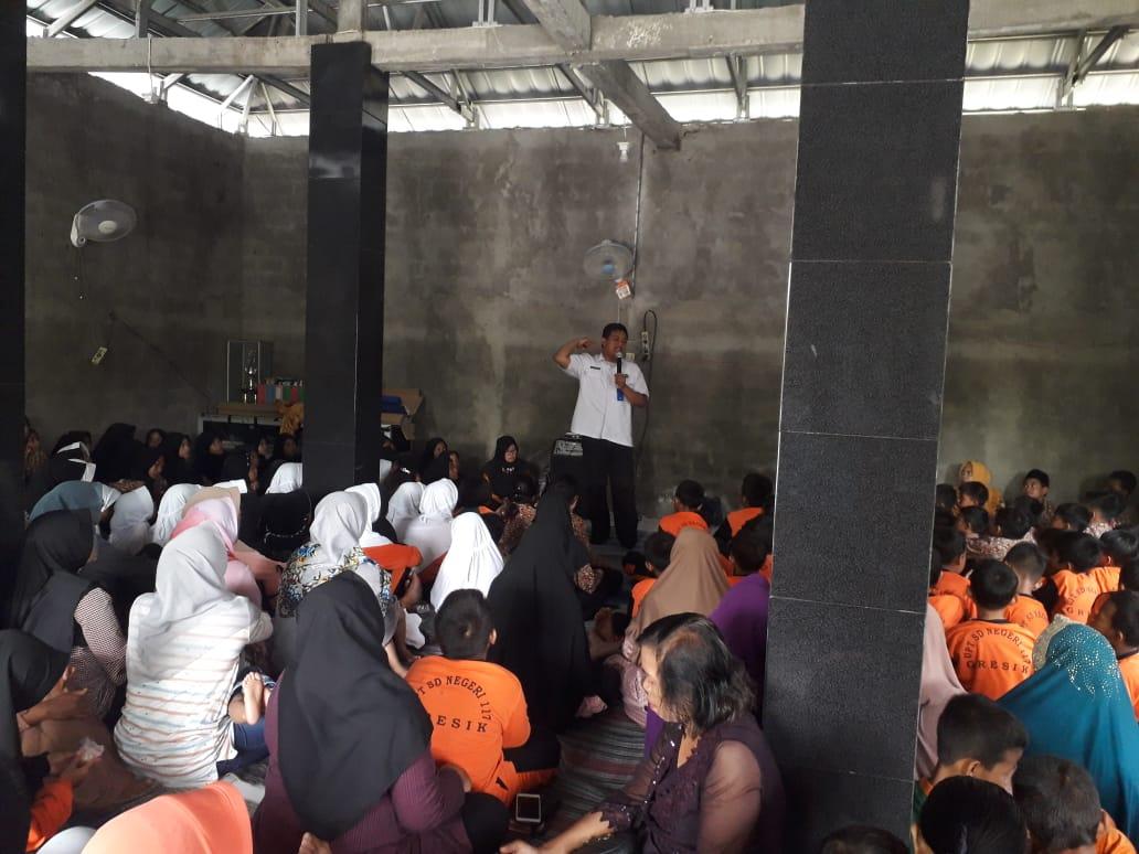 Sosialisasi P4GN di UPT SDN 117 GRESIK Desa Sirnoboyo Benjeng
